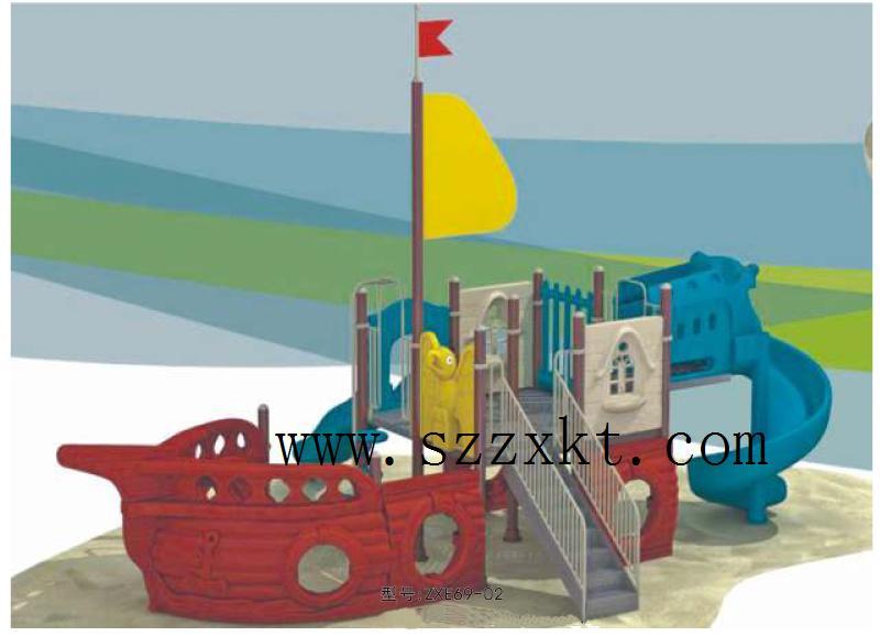 儿童游乐场款式新颖、儿童游乐场巧妙设计效果图、儿童游乐场设施