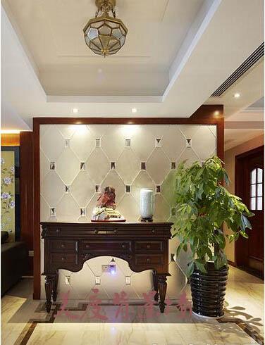 客厅走廊拼镜造型