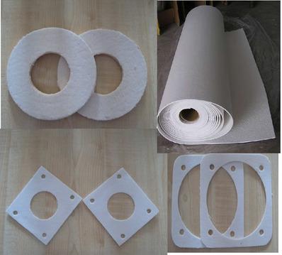 武威陶瓷纤维垫-耐高温隔热垫片阻燃耐火垫片