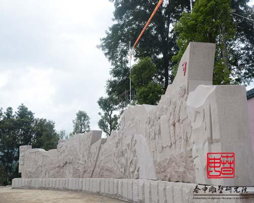 安徽石材浮雕景墙设计制作公司定制玻璃钢文化浮雕墙壁画校园浮雕文化墙制作
