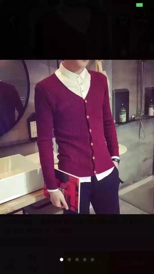洪叶羊绒衫