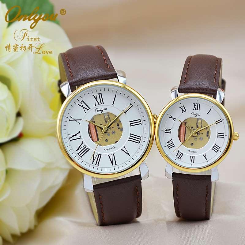 奥利妮情侣手表供应石英表、定制礼品表、厂家直销、货源稳定