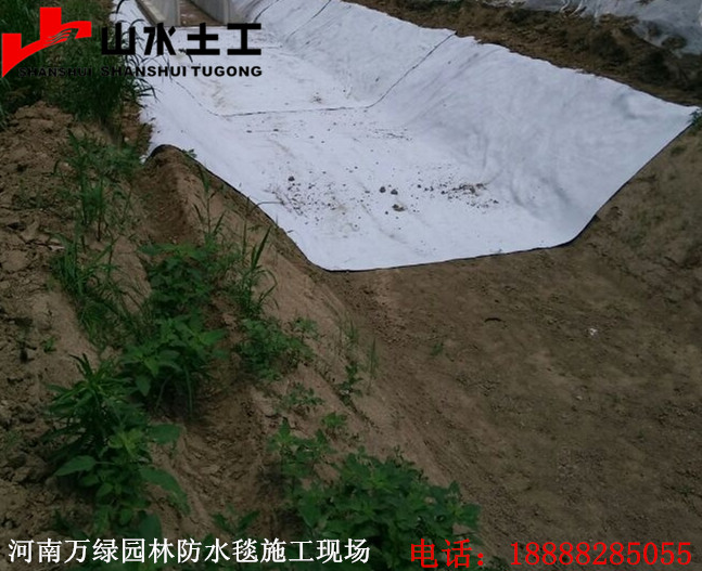 离石膨润土防水毯厂家图片