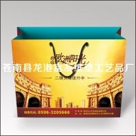 欧式建筑宣传袋有促进于企业的形象宣传来自苍南富友设计