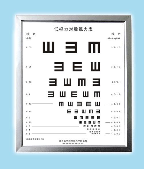 供应XK100型LED低视力专用视力表灯箱