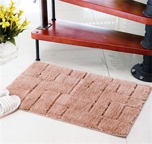 入户门垫 超纤几何高毛地垫地毯 进门防滑蹭脚垫 无味环保 厂批