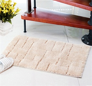 厂批 超纤几何高毛地垫 入户门垫 厨房卧室浴室防滑蹭土地毯地垫