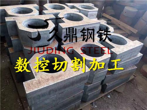 闽侯q345e花纹板切割加工零割115mm120mm特厚钢板