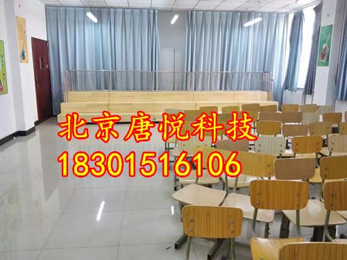 音乐教室用木质伸缩合唱台