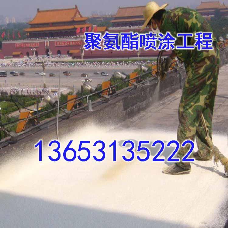 哪里有聚氨酯喷涂施工队广东省江门市江海区