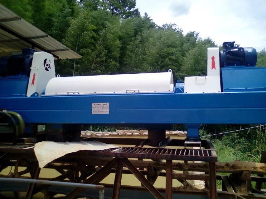 铁矿选矿废水处理设备 卧螺离心脱水机