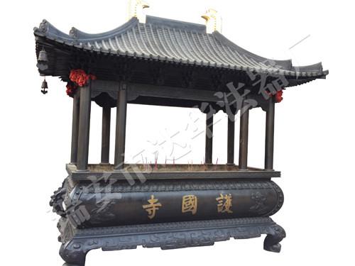 新香炉-铜香炉订购-达华法器厂
