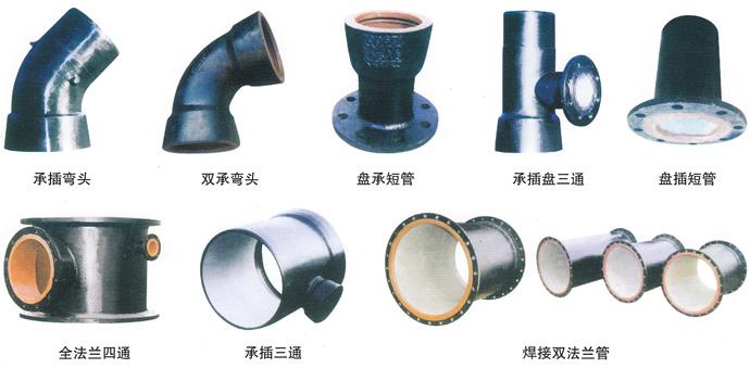四川乐山球墨管生产厂家球墨铸铁管尺寸