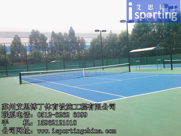 杭州嘉兴湖州EPDM塑胶网球场、杭州嘉兴湖州硅PU网球场、杭州嘉兴湖州丙烯酸网球场工程施工