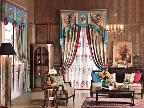 新疆欧式窗帘价钱如何大量供应出售上等欧式窗帘