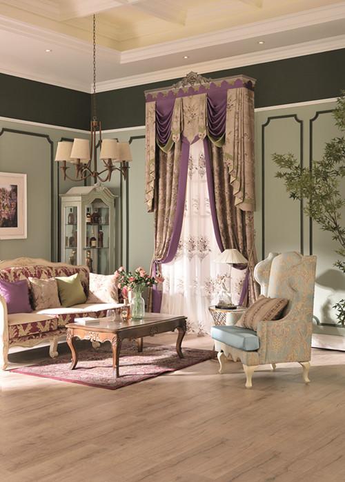 阿克苏欧式窗帘 物超所值的欧式窗帘就在爱尚布艺