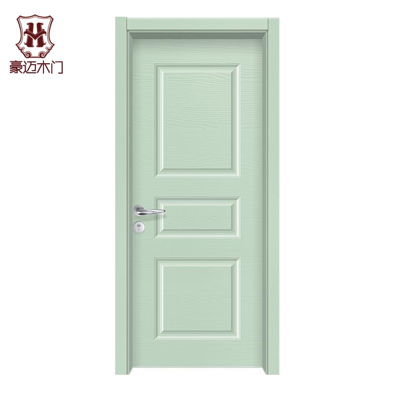 豪迈木门YS-3005 时尚彩色健康环保室内套装木门