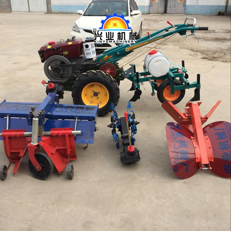 盘锦大型小型农业机械9马力柴油果园挖沟机