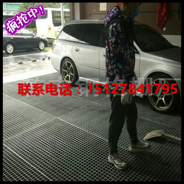 厂家直销玻璃钢格栅洗车房污水处理厂格栅地沟盖板防滑