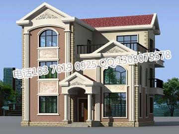 农村房屋设计图,    独栋别墅设计图,    建筑设计图纸,    建房
