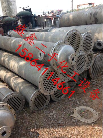 供应二手列管式冷凝器多少钱