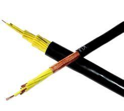 矿用5芯拉力电缆双护套50m