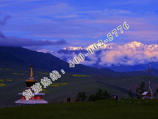 祁连旅游哪里有独具特色的青海祁连卓尔山一日游