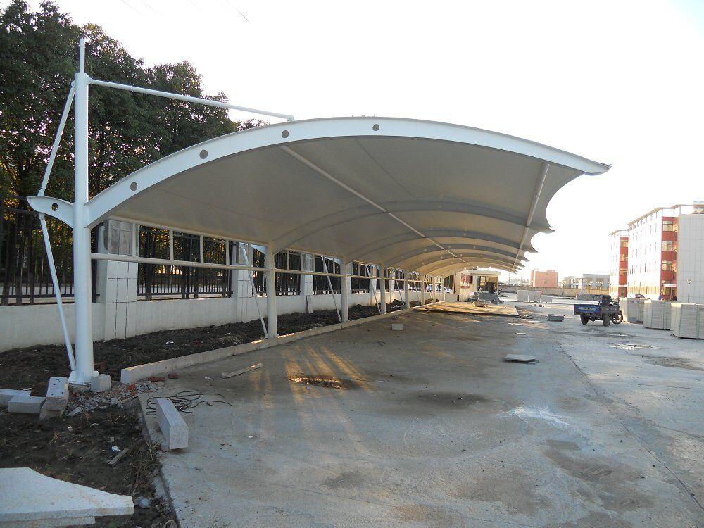 使膜结构车棚成为现代化的建筑