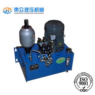 带蓄能器微型液压系统图片
