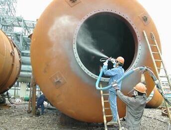湖南长沙钢结构防腐  储油罐喷砂去锈  储罐翻新油漆在哪里
