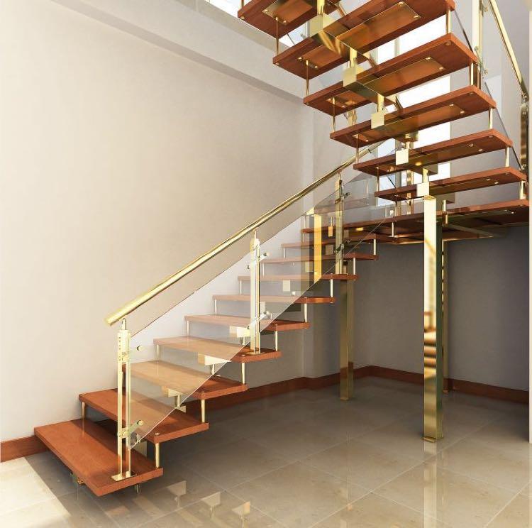 苏州九步凯跃 整体楼梯,钢木楼梯,跃层楼梯,别墅楼梯