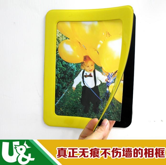 深圳照片墙磁性相框厂家定制批发环保出口磁性相框