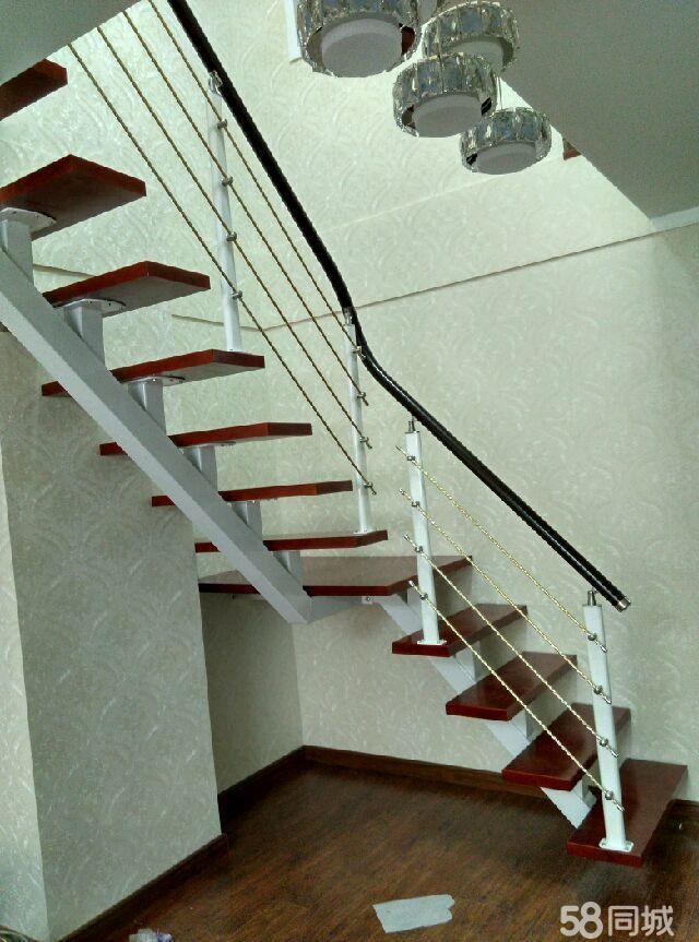 苏州九步凯跃 钢木楼梯.复式楼梯 室内 阁楼楼梯.双梁