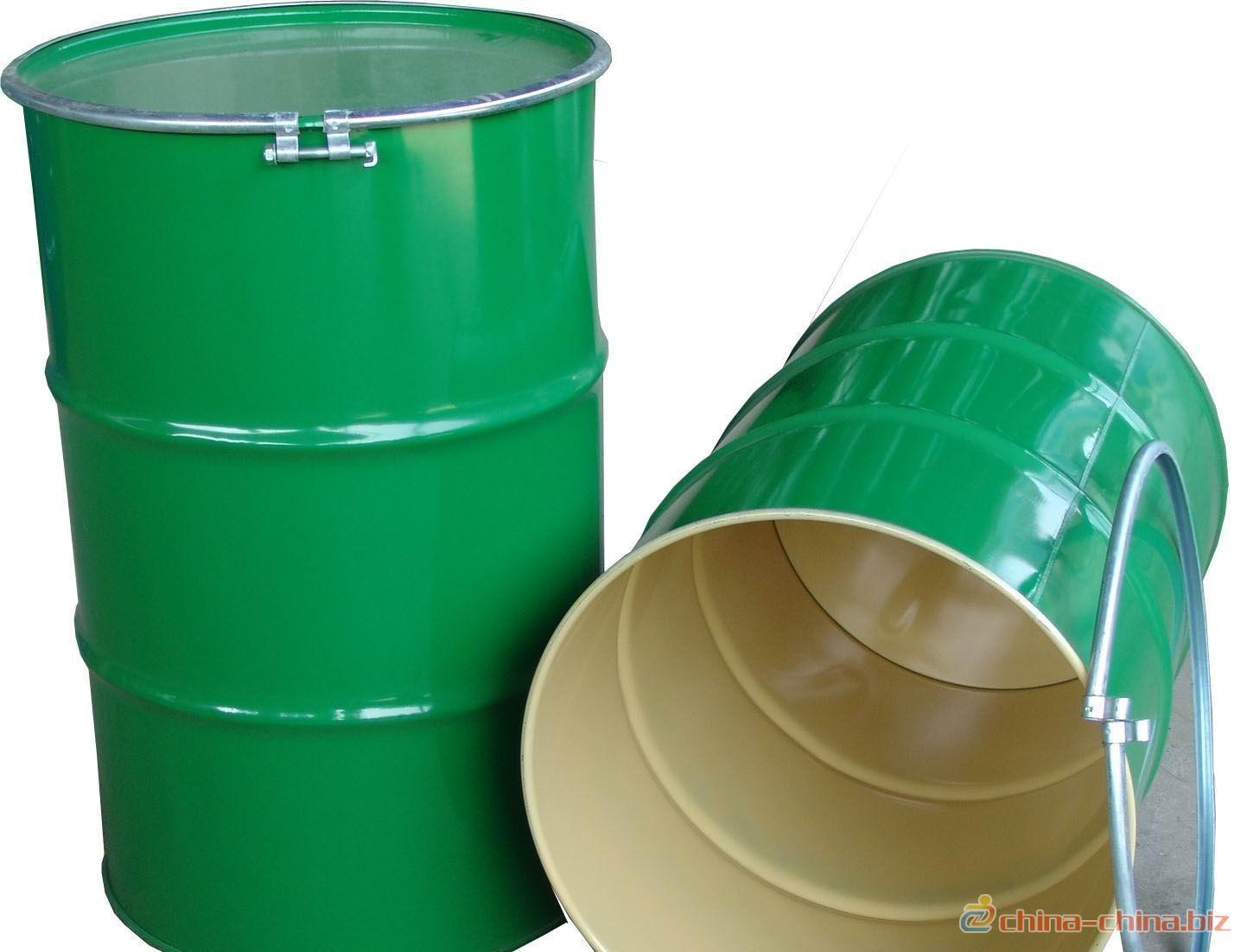 供应200升钢桶 开口闭口桶 食品级内涂塑果汁桶油桶 医药