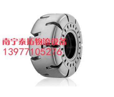 广西叉车实心轮胎优质的叉车实心轮胎、南宁泰拓物流设备供应