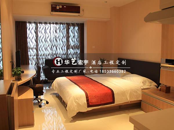酒店客房家具、宾馆家具设计、会所公寓家具定制、华艺宏宇酒店家具
