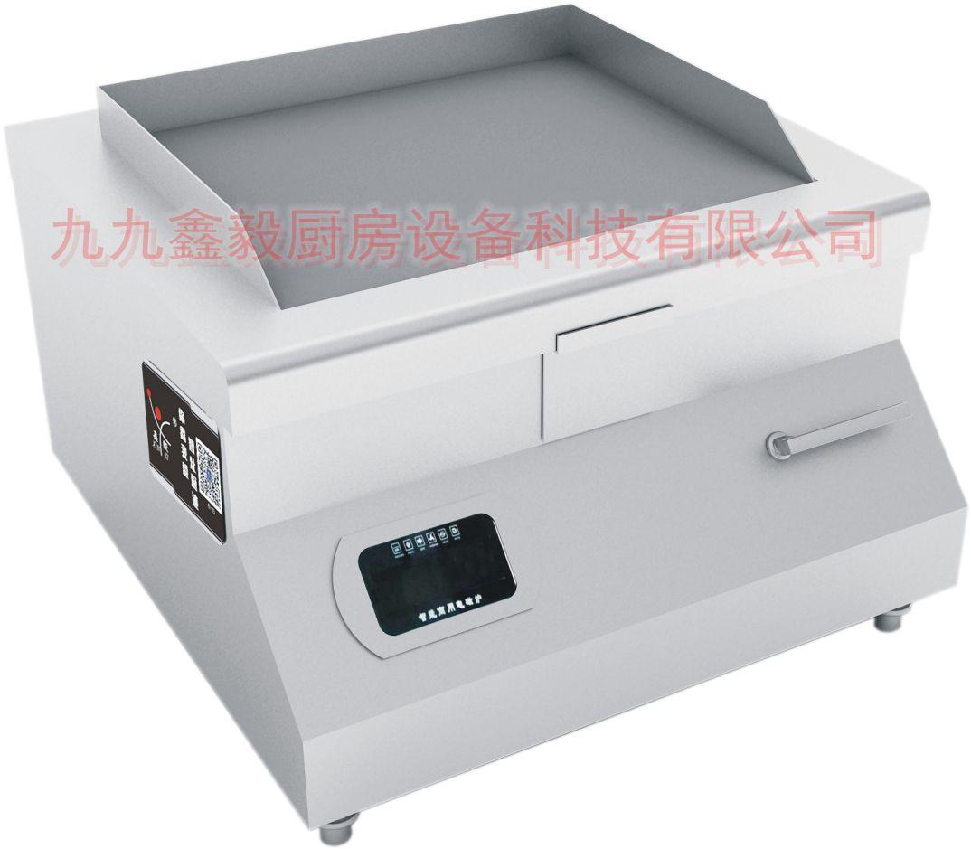 商用电扒炉 手抓饼机器 烤鱿鱼机 铁板烧创业设备加厚设备