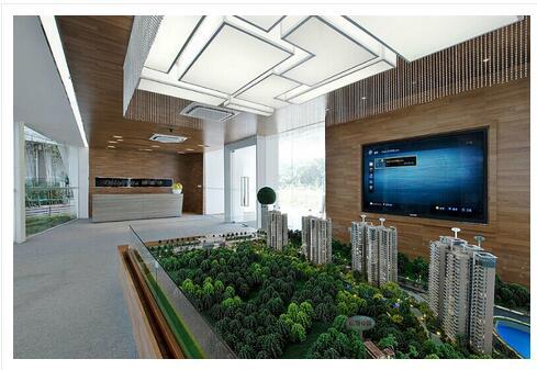 威海别墅设计、威海售楼处设计、威海花园设计