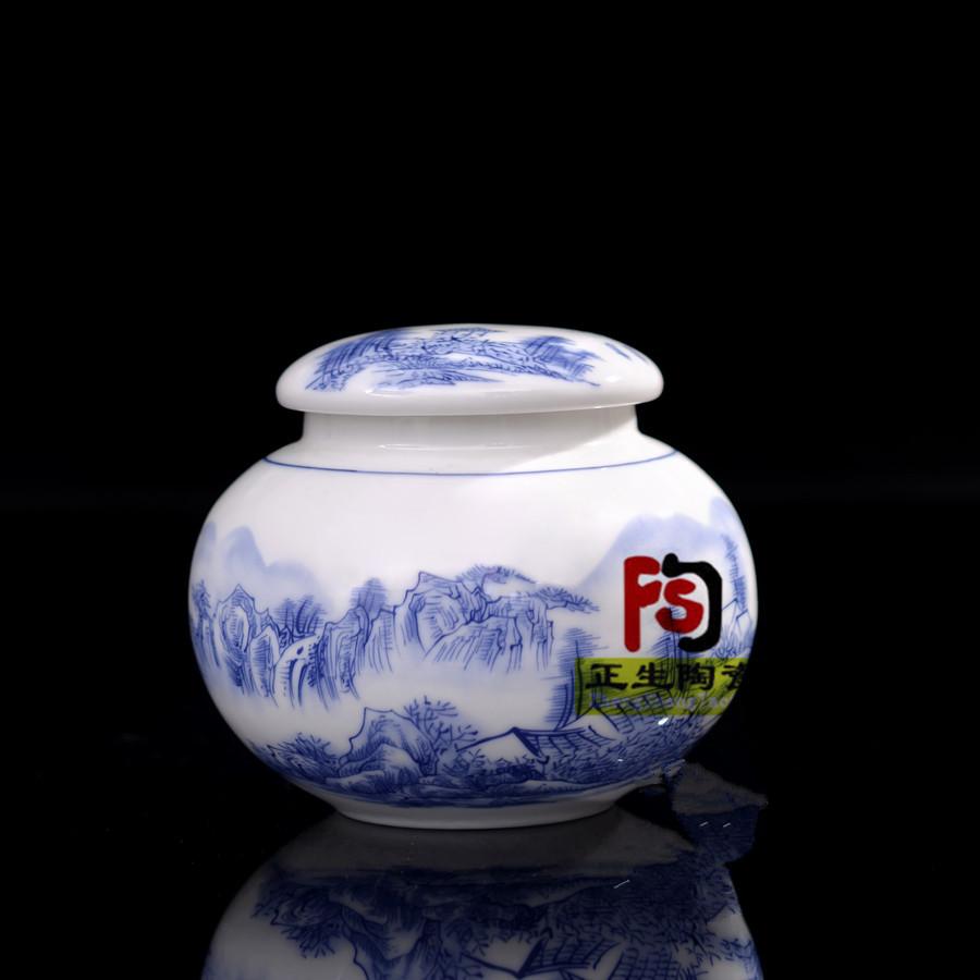 滋补膏方陶瓷罐批发价格 罐子一斤装 500毫升罐子 景德镇罐子厂