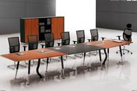 实木办公家具会议桌 实木家具工厂 实木桌椅