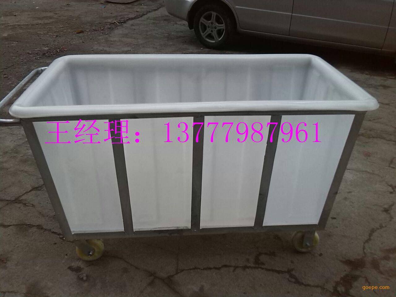 泉州化工塑料方桶 印染布草车内胆 敞口耐腐蚀方桶价格