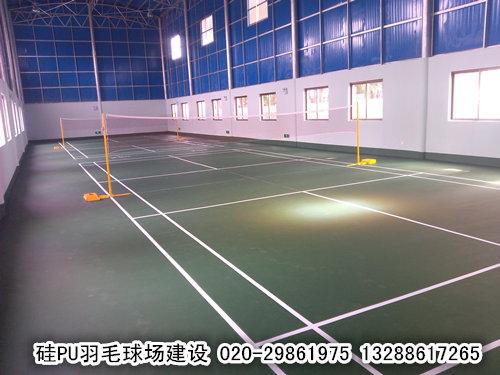 奥宏羽毛球场施工建设价格实惠便宜
