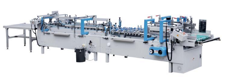 专业生产全自动高速糊盒机 FG-600/800自动胶盒机直销供应商温州哈得 品质保证