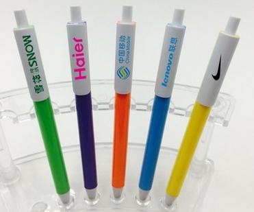 厂家直销 办公签字笔定做 促销广告笔 中性笔定制logo长沙圆珠笔