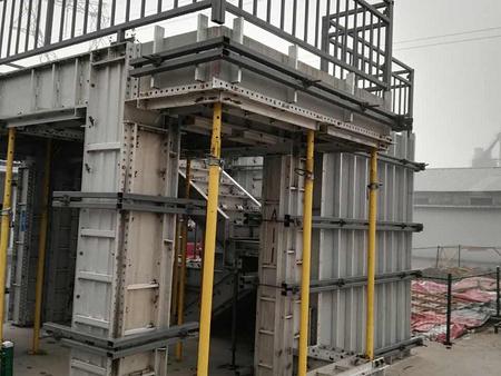 山西铝模板、山西铝模支撑体系、山西铝合金建筑模板代理、买专业的山西铝模板优选山西高鑫源