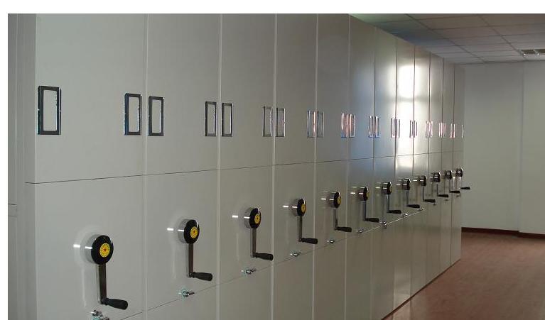 买合理的内蒙古密集柜、首要选择金城办公:赤峰手动密集柜