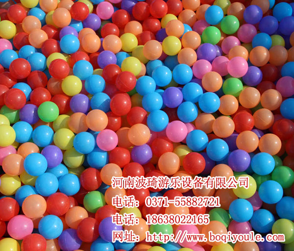 百万球池生产厂家/淘气堡全套设备/波琦海洋球波波球
