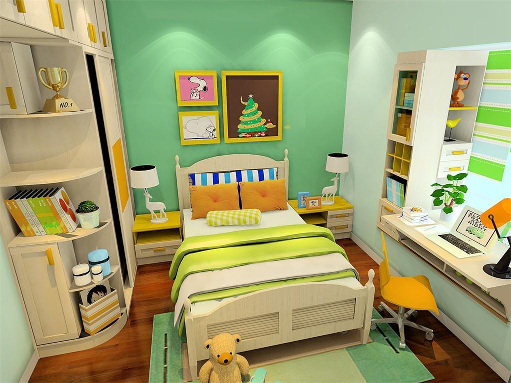 石家庄定制儿童转角衣柜、儿童家具套房定制、石家庄定做儿童家具套房