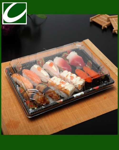 提供一次性寿司盒出口欧美