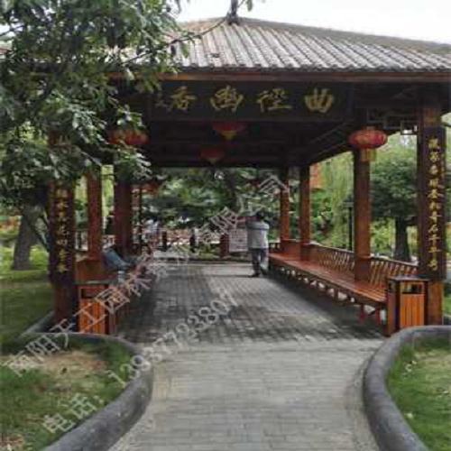 南阳防腐木园林设计-西峡防腐木园林设计